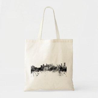Calgary Canada Skyline Tote Bag
