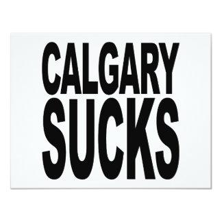 """Calgary chupa invitación 4.25"""" x 5.5"""""""