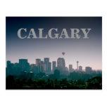 Calgary con la postal de los globos