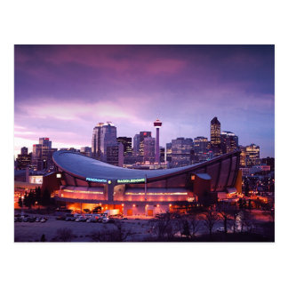 Calgary during Sunset Postcard