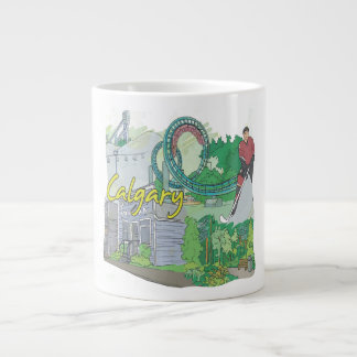 Calgary Giant Coffee Mug