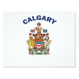 """Calgary Invitación 4.25"""" X 5.5"""""""
