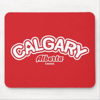 Calgary Leaf Mouse Pad