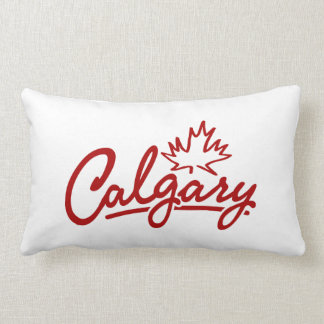 Calgary Leaf Script Pillow