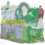 Calgary Photo Cut Out