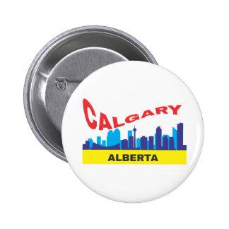 Calgary Pinback Button
