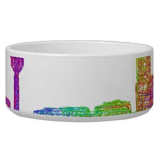 Calgary skyline bowl
