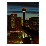 Calgary Skyline Framed Print