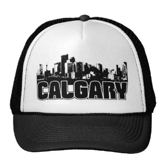 Calgary Skyline Trucker Hats