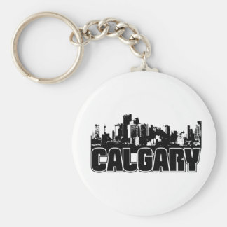Calgary Skyline Keychains