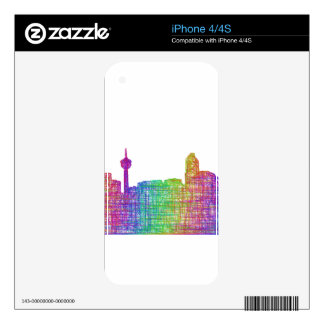 Calgary skyline skin for iPhone 4S