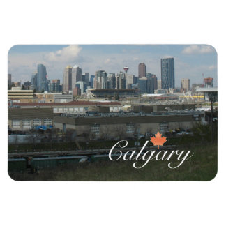 Calgary Souvenir Rectangular Photo Magnet