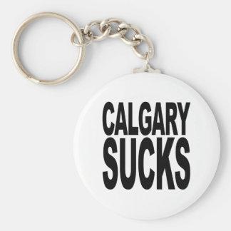 Calgary Sucks Key Chains