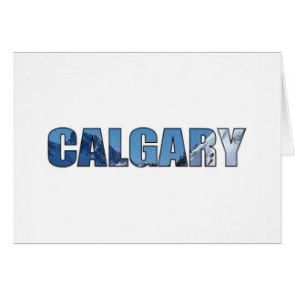 Calgary Tarjeta De Felicitación