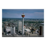 Calgary Tower, Alberta, Canada Poster