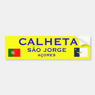 Calheta Sao Jorge Azores Bumper Sticker