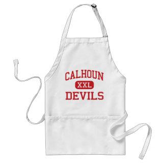 Calhoun - Devils - Middle - Mount Zion Aprons