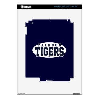 Calhoun High School; Tigers Skin For iPad 3