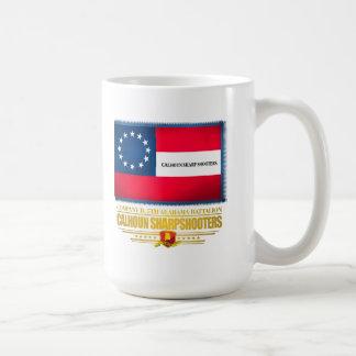 Calhoun Sharpshooters Classic White Coffee Mug