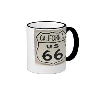 cali 66 ringer coffee mug