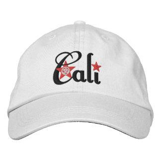 Cali Adjustable Embroidered Baseball Hat
