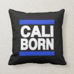 Cali Born Blue Pillow