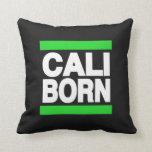 Cali Born Green Pillow
