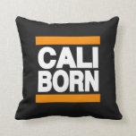 Cali Born Orange Pillows