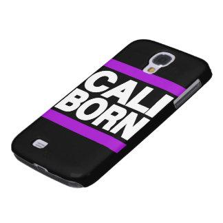 Cali Born Purple Galaxy S4 Covers