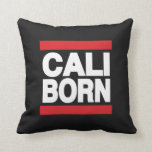 Cali Born Red Pillow