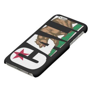 Cali California Flag Matte iPhone 6 Case