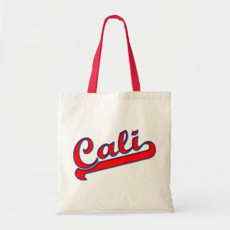 Cali California Logo Red Tote Bag