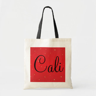 Cali California Sparkle Budget Tote