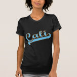 Cali California Surfer Logo in Blue T-shirts