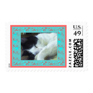 Cali-Cat Postage Stamps