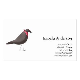 Cali Crows · Crow & Bandana Business Card