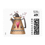 Cali Crows · Crow & Watering Can Postage Stamps