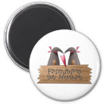 Cali Crows · Primitive at Heart 2 Inch Round Magnet