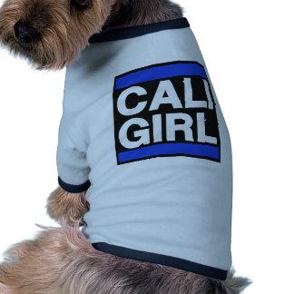 Cali Girl Blue Doggie Tee