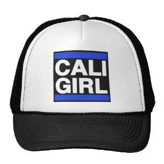 Cali Girl Blue Trucker Hat