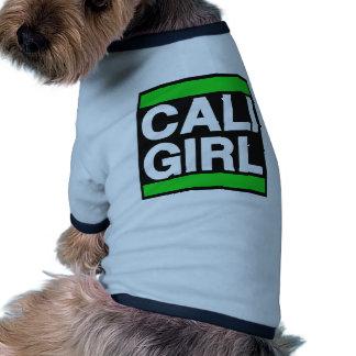 Cali Girl Green Pet Tee