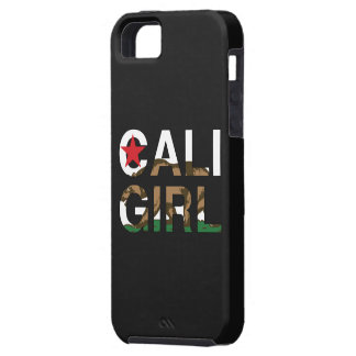 Cali Girl Rep Clear iPhone 5/5S Cover