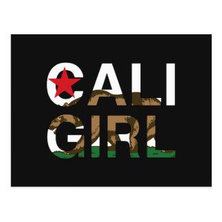 Cali Girl Rep Clear Postcard