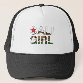 Cali Girl Rep Clear Trucker Hat