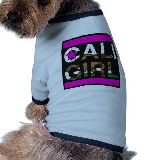 Cali Girl Rep Pink Pet Tee