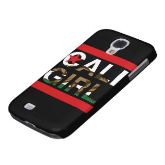 Cali Girl Rep Red Galaxy S4 Case