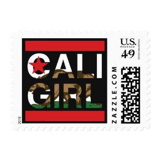 Cali Girl Rep Red Postage