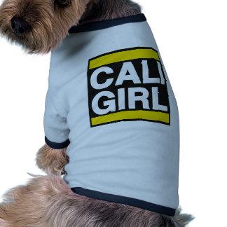Cali Girl Yellow Pet Clothes