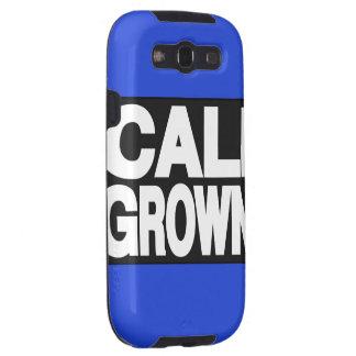 Cali Grown 2 Blue Samsung Galaxy SIII Case