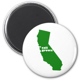 Cali Grown 2 Inch Round Magnet